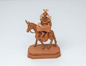 Escultura de São Francisco montado em um burro - Artista Leonilson Capela