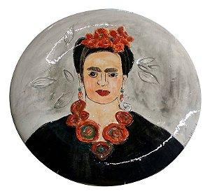 Prato Frida Kahlo - Silvana Tinelli