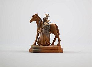 Escultura de Francisco de Assis - Leonilson Arcanjo