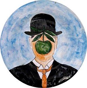Série Pintores de Silvana Tinelli - René Magritte