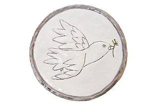Prato Pomba da paz - Silvana Tinelli