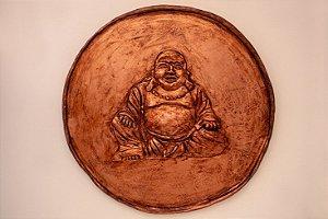 Prato decorativo terracota Buda - Silvana Tinelli