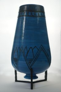 Vaso Azul - Silvana Tinelli