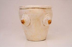 Vaso de cerâmica Seios - Silvana Tinelli