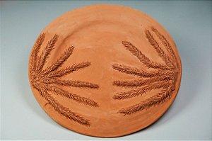 Prato de parede Folhas Cannabis - Silvana Tinelli