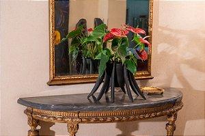 Vaso de cerâmica Catedral - Walter Cabral