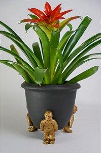 Vaso de cerâmica Carregadores - Walter Cabral
