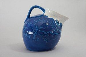 Jarra de cerâmica Azul - Silvana Tinelli