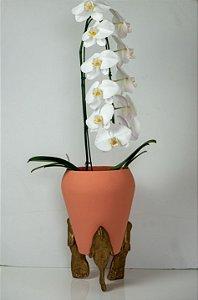 Vaso de cerâmica Peixe - Walter Cabral