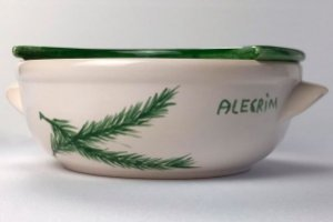 Porta Mozzarella de cerâmica - Silvana Tinelli