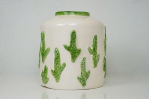 Vaso de cerâmica Cactos - Silvana Tinelli