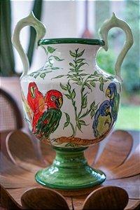 Vaso de cerâmica Debret - Silvana Tinelli