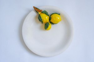 Prato de parede Limões Siciliano - Silvana Tinelli