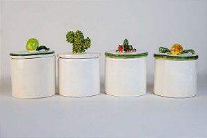 Conjunto de Potes para doces ou lavabo - Silvana Tinelli