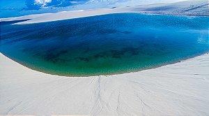Lagoa Azul (Metacrilato) - Silvana Tinelli