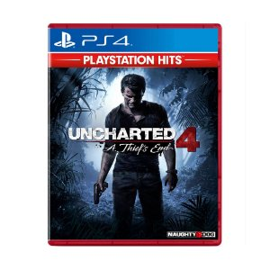 Jogo Uncharted 4: A Thief's End (Playstation Hits) - PS4