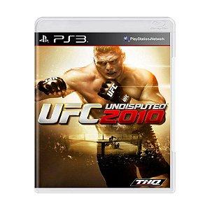 Jogo UFC Undisputed 2010 - PS3
