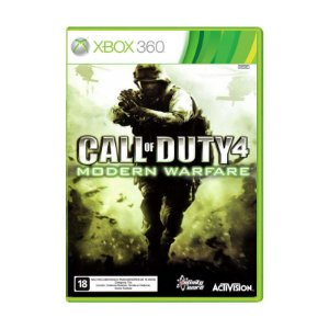 Jogo Call of Duty 4 Modern Warfare - Xbox 360