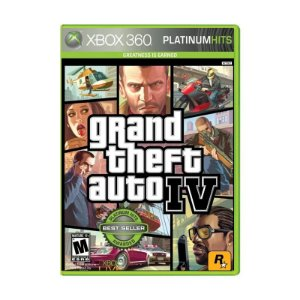Jogo Grand Theft Auto IV Platinum Hits (GTA 4) - Xbox 360