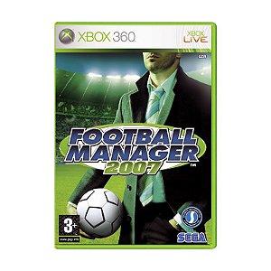 Jogo Football Manager 2007 - Xbox 360