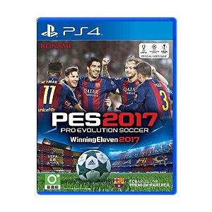 Jogo Pro Evolution Soccer 2017 ( Pes 2017 ) - PS4