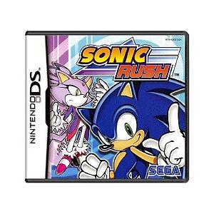 Jogo Sonic Rush - DS