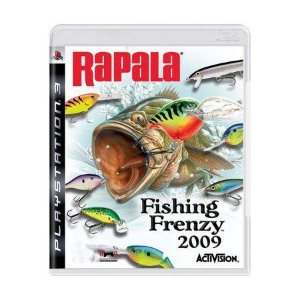 Jogo Rapala Fishing Frenzy 2009 - PS3