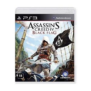 Jogo Assassin's Creed IV: Black Flag - PS3