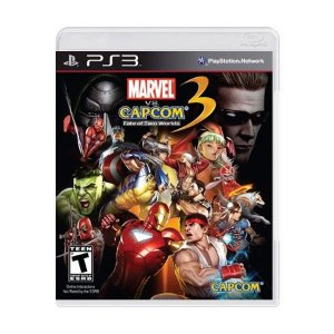 Jogo Marvel VS Capcom: Fate of Two Worlds 3 - PS3