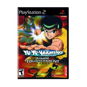Jogo Yu Yu Hakusho Dark Tournament - PS2