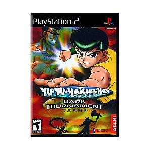 Jogo Yu Yu Hakusho Dark Tournament - PS2