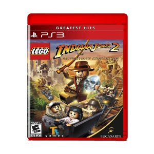 Jogo Lego Indiana Jones 2 The Adventure Continues - PS3