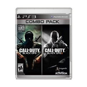 Jogo Call Of Duty Black Ops 1 e 2 Combo Pack - PS3
