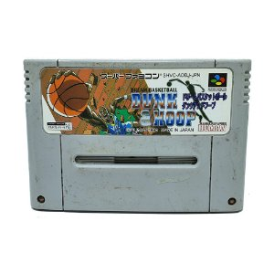 Jogo Dream Basketball Dunk Hoop - SNES