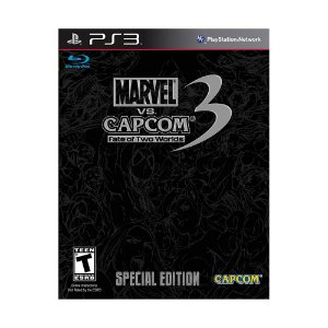 Jogo Marvel vs Capcom 3 Fate of Two Worlds Special Edition - PS3