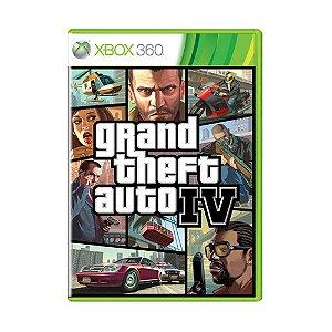 Jogo Grand Theft Auto IV - Xbox 360