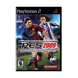 Jogo Pro Evolution Soccer 2009 - PS2