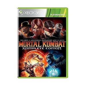 Jogo Mortal Kombat Komplete Edition (Platinum Hits) - Xbox 360