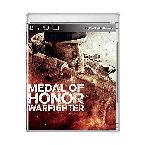 Jogo Medal of Honor Warfighter - PS3
