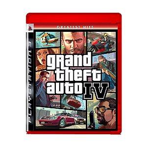 Jogo Grand Theft Auto IV ( Greatest Hits ) - PS3