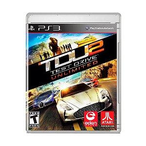 Jogo Test Drive Unlimited 2 - PS3