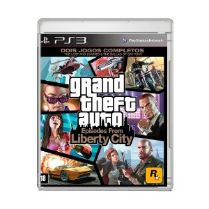 Jogo Grand Theft Auto: Episodes From Liberty City - PS3