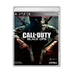 Jogo Call of Duty: Black Ops (Capa Reimpressa) - PS3