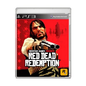Jogo Red Dead Redemption (Capa Reimpressa) - PS3