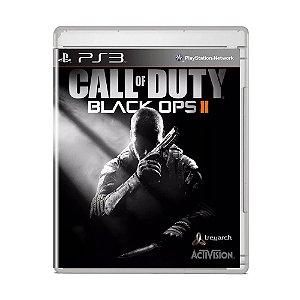 Jogo Call of Duty Black Ops II (Capa Reimpressa) - PS3