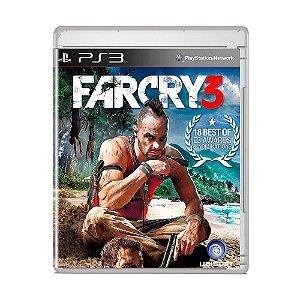 Jogo Far Cry 3 (Capa Reimpressa) - PS3
