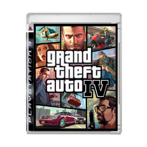 Jogo Grand Theft Auto IV (Capa Reimpressa) - PS3