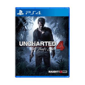 Jogo Uncharted 4: A Thief's End (Capa Reimpressa) - PS4