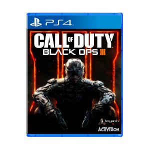 Jogo Call of Duty: Black Ops III ( Capa Reimpressa) - PS4