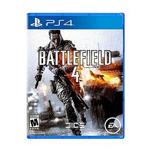 Jogo Battlefield 4 (Capa Reimpressa) - PS4
